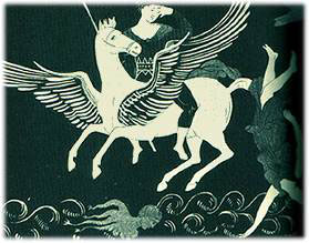 Patriarchal Ideology - Pegasus fighting the Amazons - Humanizator.ro