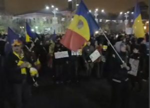 Protests Against Corruption - Bucharest - Humanizator.ro
