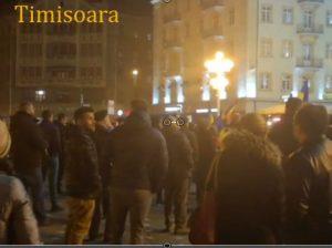 Protests Against Corruption - Timisoara - Humanizator.ro